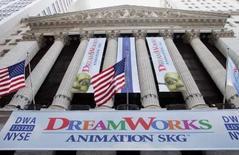 <p>Le studio d'animation américain DreamWorks Animation SKG a préféré Intel à AMD pour remplacer ses puces et autres équipements informatiques destinés à la réalisation de ses films, rapporte mardi le Wall Street Journal. /Photo d'archives/REUTERS/Peter Morgan</p>