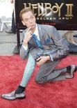 "<p>Doug Jones, attore in ""Hellboy II The Golden Army"" REUTERS/Hector Mata</p>"