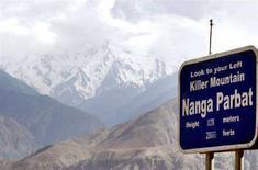 <p>La cima del Nanga Parabat. REUTERS/Faisal Mahmood</p>