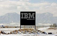<p>Les autorités américaines de la concurrence ont donné leur aval au rachat de l'éditeur français de logiciels Ilog par IBM, une opération d'un montant de 215 millions d'euros. /Photo d'archives/REUTERS/Rick Wilking</p>
