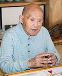 <p>Томодзи Танабе в своем доме в Мияконодзё на юге Японии 12 сентября 2008 года. Самый старый человек в мире - японец Томодзи Танабе - отмечает в четверг свой 113-й день рождения. REUTERS/Kyodo (JAPAN) F</p>