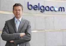 <p>Didier Bellens, le directeur général de Belgacom. Le premier opérateur télécoms belge regarde de près les éventuelles opportunités de croissance externe à l'étranger et se dit prêt à dépenser de quatre ou cinq milliards d'euros pour ne pas rater une bonne occasion. /Photo prise le 19 septembre 2008/REUTERS/Thierry Roge</p>