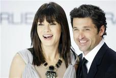 "<p>Patrick Dempsey and Michelle Monaghan arrive at the red carpet for the German premiere of the movie ""Made of Honor"" in Berlin May 13, 2008. REUTERS/Hannibal Hanschke</p>"