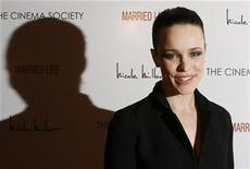 "<p>Actress Rachel McAdams arrives for the premiere of the film ""Married Life"" in New York March 5, 2008. REUTERS/Lucas Jackson</p>"