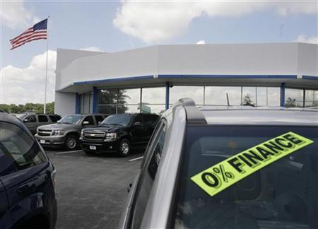 SUVs are seen at a dealership in Silver Spring, Maryland, July 1, 2008. REUTERS/Yuri Gripas