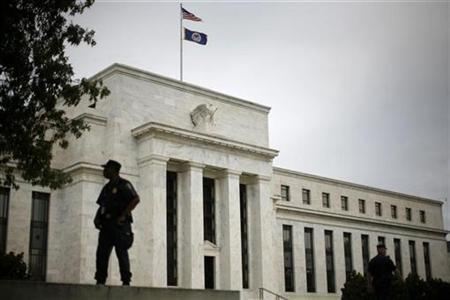 The federal Reserve Building in Washington, September 16, 2008. REUTERS/Jim Young