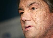 <p>Президент Украины Виктор Ющенко произносит речь в Chatham House в Лондоне, 17 октября 2005 года Президент Украины Виктор Ющенко подписал указ о роспуске парламента и назначил досрочные выборы Верховной Рады на 7 декабря 2008 года. REUTERS/Stephen Hird</p>