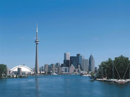 The skyline of Toronto in an undated photo. Canada has the world's soundest banking system, closely followed by Sweden, Luxembourg and Australia, a survey by the World Economic Forum has found as financial crisis and bank failures shake world markets. REUTERS/Handout