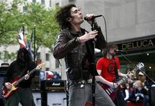 <p>Lead singer Tyson Ritter performs with his band 'The All-American Rejects' on NBC's 'Today' show in New York, in this file photo from May 18, 2007. REUTERS/Brendan McDermid</p>
