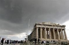 <p>Il Partenone dell'Acropoli di Atene. REUTERS/Stringer (Grecia)</p>
