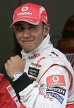 <p>Il pilota della McLaren Lewis Hamilton. REUTERS/Aly Song</p>