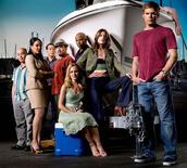 "<p>The cast of ""Dexter"" in an undated photo. REUTERS/Showtime/Handout</p>"