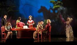 "<p>The cast of the San Francisco Opera's production of ""The Bonesetter's Daughter"" is shown in this undated publicity photo released to Reuters October 24, 2008. Writer Amy Tan's opera, based in part on the emotional journey Tan took in dealing with her mother's descent into Alzheimer's disease, tells the story of a San Francisco woman who re-experiences her grandmother's life in China in the 1940s. Ultimately, it helps her understand her own mother's life and come to terms with the elderly woman's dementia. REUTERS/Terrence McCarthy/San Francisco</p>"