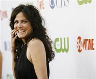 <p>Actress Mary-Louise Parker smiles at the CBS, CW & Showtime press tour party in Hollywood, California, July 18, 2008. REUTERS/Mario Anzuoni</p>