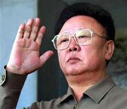<p>Лидер Северной Кореи Ким Чен Ир принимает воинский парад в Пхеньяне 10 октября 2005 года. Лидер Северной Кореи Ким Чен Ир, вероятно, находится в больнице, но все еще способен руководить страной, сказал во вторник премьер-министр Японии Таро Асо, опираясь на данные разведок нескольких стран. REUTERS/Korea News Service/Files (NORTH KOREA)</p>