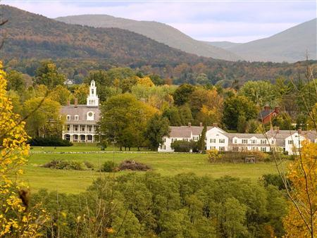 A view of the Bennington College in Bennington, Vermont, is seen in this handout photo taken in 2007. REUTERS/Gregory Cherin/Bennington College/Handout