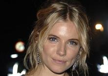 "<p>Actress Sienna Miller poses at the premiere of ""Interview"" during the 51st BFI (British Film Institute) London film festival in this file photo from October 18, 2007. REUTERS/Anthony Harvey</p>"