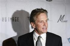 <p>Actor Michael Douglas arrives for the opening night of the Israel Film Festival in New York, October 29, 2008. REUTERS/Lucas Jackson</p>
