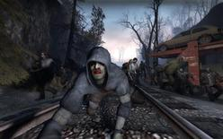 "<p>A screenshot from the videogame ""Left for Dead"". REUTERS/Valve Software/Handout.</p>"