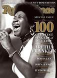<p>La cantante Aretha Franklin en la portada de la revista Rolling Stone, 11 nov 2008. Aretha Franklin ya era la reina de Soul, pero ahora fue elegida como la mejor cantante de la era del rock en una encuesta realizada por la revista Rolling Stone. REUTERS/Courtesty Rolling Stone/Handout</p>