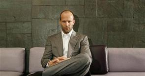 <p>Actor Jason Statham poses for a portrait for Reuters in New York, March 3, 2008. REUTERS/Lucas Jackson/Files</p>