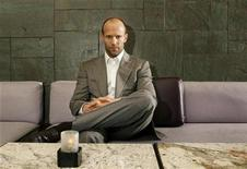 "<p>Actor Jason Statham poses for a portrait while promoting his new film ""The Bank Job"" in New York March 3, 2008. REUTERS/Lucas Jackson</p>"
