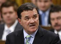 <p>Canada's Finance Minister Jim Flaherty delivers the government's fiscal update in the House of Commons on Parliament Hill in Ottawa November 27, 2008. REUTERS/Chris Wattie</p>