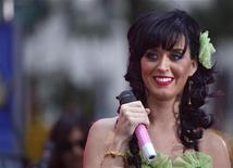 "<p>Singer Katy Perry performs on NBC's ""Today"" show in New York August 29, 2008. REUTERS/Brendan McDermid</p>"