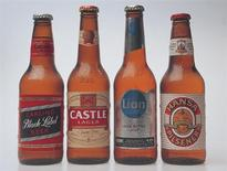 <p>SABMiller beers are seen in a handout photo. REUTERS/Handout</p>