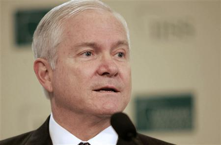 U.S. Defense Secretary Robert Gates speaks at the Regional Security Summit in Manama, December 13, 2008. Gates warned the United States' enemies on Saturday against trying to take advantage of the early months of the new Washington administration to test U.S. resolve. REUTERS/Hamad I Mohammed