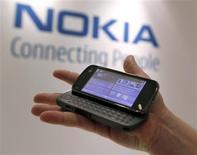 <p>Nokia, maior fabricante mundial de celulares, já alertou que o mercado sobre sua expectativa de um crescimento menor em 2009. As vendas de telefones celulares vão encolher no próximo ano no ritmo mais rápido visto até agora, segundo uma pesquisa realizada pela Reuters REUTERS/Brendan McDermid</p>