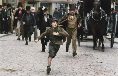 A scene from director Roman Polanski's 2005 film ''Oliver Twist''. REUTERS/Handout