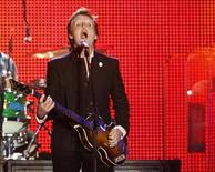 <p>British musician Paul McCartney performs during his concert in Tel Aviv in this file photo from September 25, 2008. REUTERS/Gil Cohen Magen</p>