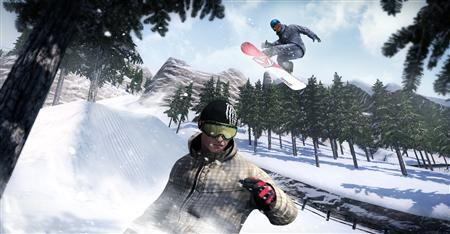 A scene from the game ''Shaun White Snowboarding'' is seen in this handout photo. REUTERS/Ubisoft/Handout