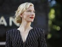 <p>Australian actress Cate Blanchett waits before accepting a star on the Walk of Fame in Hollywood, California December 5, 2008. REUTERS/Mario Anzuoni</p>