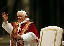 <p>Il Papa Benedetto XVI. REUTERS/Giampiero Sposito (VATICAN)</p>