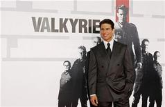 "<p>Tom Cruise arrives for the premiere of the film ""Valkyrie"" in New York December 15, 2008. REUTERS/Lucas Jackson</p>"