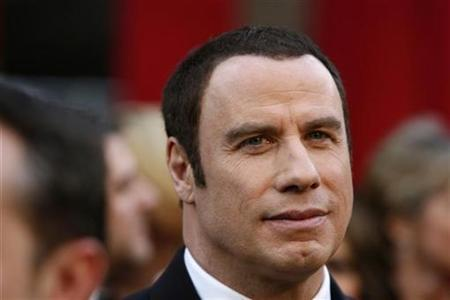 Actor John Travolta arrives at the 80th annual Academy Awards, the Oscars, in Hollywood, February 24, 2008. REUTERS/Lucas Jackson