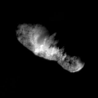 A view of a comet shot by the Deep Space 1 spacecraft September 22, 2001. REUTERS/NASA/JPL/Handout