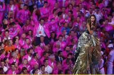 """<p>Leona Lewis, vincitrice dell'edizione britannica del 2006 del reality show """"X Factor"""". REUTERS/Phil Noble</p>"""