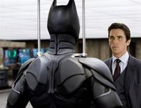 "<p>Christian Bale as Bruce Wayne in ""The Dark Knight."" REUTERS/Warner Bros. Pictures/Handout</p>"