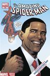 <p>O presidente eleito dos EUA, Barack Obama, em uma edição especial do gibi do homem-aranha. REUTERS/Marvel Comics/Handout (UNIITED STATES). NO SALES. NO ARCHIVES. FOR EDITORIAL USE ONLY. NOT FOR SALE FOR MARKETING OR ADVERTISING CAMPAIGNS.</p>