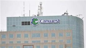 <p>The CanWest Global building is seen on Portage Avenue in Winnipeg, MB in this November 14, 2008 file photo. The company posted a quarterly loss as the slower economy and lower advertising volume dragged on results, the company said on Wednesday. REUTERS/Fred Greenslade</p>