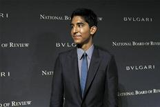 "<p>Actor Dev Patel from the film ""Slumdog Millionaire"" arrives at the 2008 National Board of Review awards gala in New York January 14, 2009. REUTERS/Shannon Stapleton</p>"