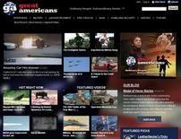 <p>A screen grab of GreatAmericans.com. REUTERS/www.greatamericans.com</p>
