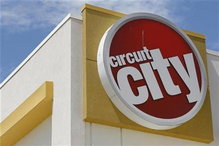 A Circuit City Store is seen in Dallas, Texas in this file photo taken June 19, 2008. REUTERS/Jessica Rinaldi/Files