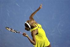 <p>Venus Williams durante a partida contra a espanhola Carla Suarez Navarro REUTERS/Darren Whiteside (AUSTRALIA)</p>