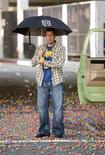 """<p>Ator Adam Sandler em cena do filme """"Faz de Conta que Acontece"""". Foto de divulgação. REUTERS/Tracy Bennett/Disney Enterprises, Inc.</p>"""