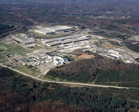 A site within the Oak Ridge National Laboratory, is seen in an undated handout photo from the U.S. Department of Energy. REUTERS/U.S. Department of Energy/Handout