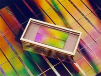 <p>Un chip di memoria Dram. LJW/DL</p>